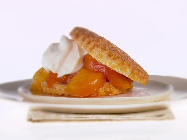 Stone-Fruit Shortcakes with Mascarpone Cream