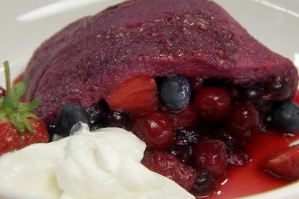 Chuck Hughes' Summer Berry Pudding