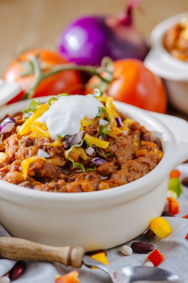 Super Easy Slow-Cooker Chili
