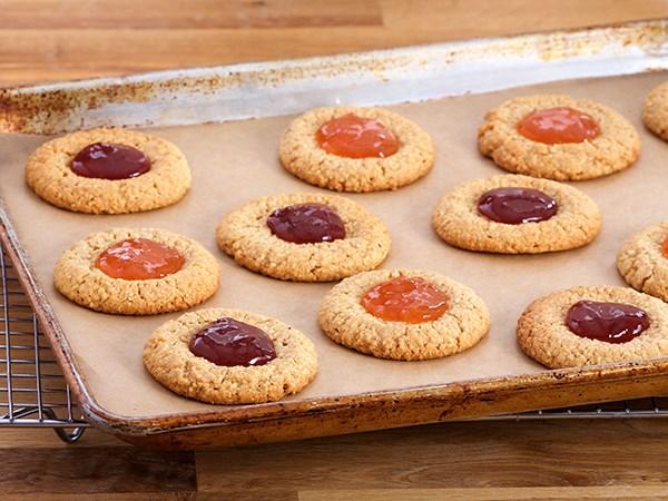 Pumpkin Thumbprint Cookies Food Network