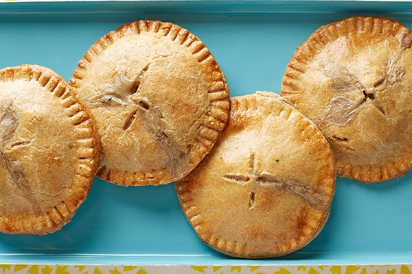 Mini Whole Wheat Chicken Pot Pies