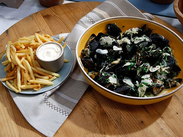 Moules Frites Recipe Food Network