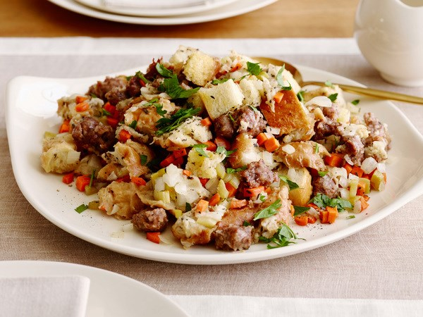 Slow-Cooker Sausage Stuffing