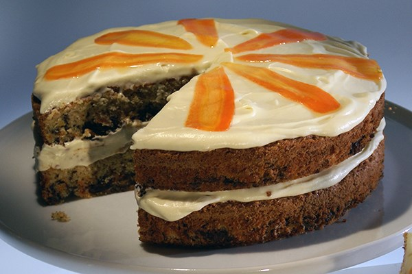 Easy Double Layer Carrot Cake With Pineapple Cream Cheese Frosting