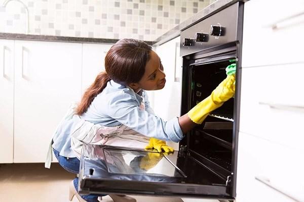 12 time saving kitchen cleaning hacks food network canada. Black Bedroom Furniture Sets. Home Design Ideas