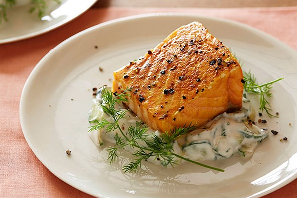 how to best cook salmon with skin
