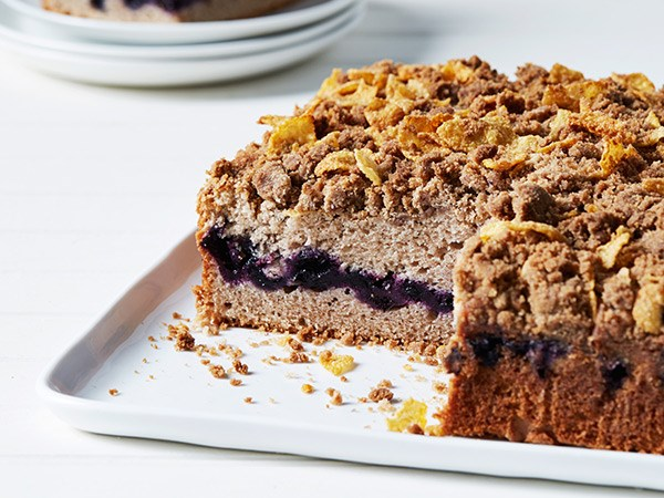 Anna Olson Coffee Cake Raspberry