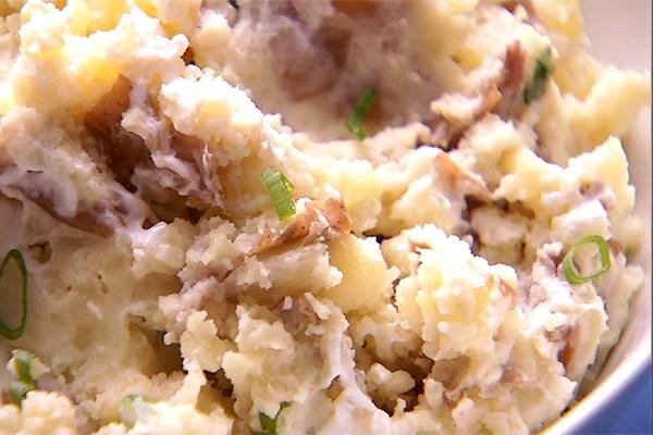 Crème Fraiche Mashed Potatoes