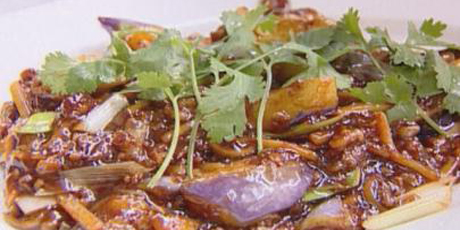 Spicy eggplant recipes food network canada spicy eggplant forumfinder Images