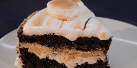 The Smore Birthday Cake