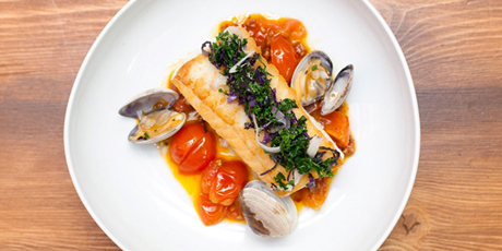 Ling cod with clams recipes food network canada ling cod with clams print recipe forumfinder Gallery