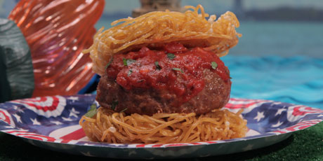 The Meatball Burger