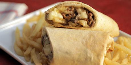 Burrito Recipe Ground Beef Food Network