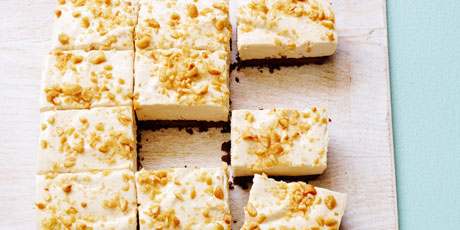 Healthy no bake peanut butter cheesecake bars recipes food network healthy no bake peanut butter cheesecake bars print recipe forumfinder Image collections
