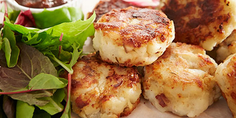 The savvy sailors salt cod cakes recipes food network canada the savvy sailors salt cod cakes great canadian cookbook recipe forumfinder Image collections