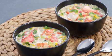Atlantic Lobster Chowder