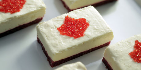 Canadian No-Bake Cheesecake Bars