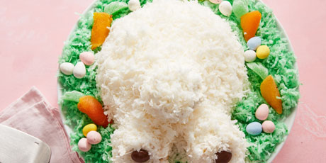 Coconut Bunny Butt Cake Recipes Food Network Canada
