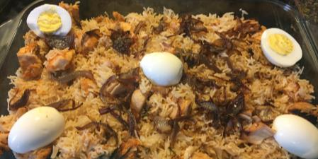 7 minute chicken biryani recipes food network canada 7 minute chicken biryani print recipe forumfinder Image collections