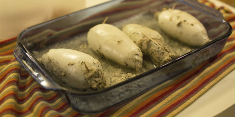 Baked Stuffed Squid Recipes Food Network Canada
