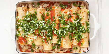 Light chicken enchiladas recipes food network canada light chicken enchiladas print recipe forumfinder Choice Image