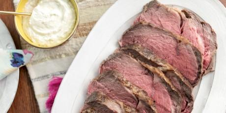 Easy prime rib with fresh horseradish sauce recipes food network easy prime rib with fresh horseradish sauce forumfinder Gallery