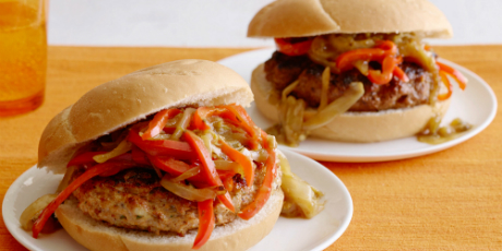 Beef and chicken fajita burgers have one of each recipes food beef and chicken fajita burgers have one of each forumfinder Choice Image