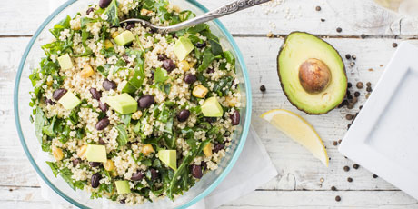 Avocado, Kale and Quinoa Salad