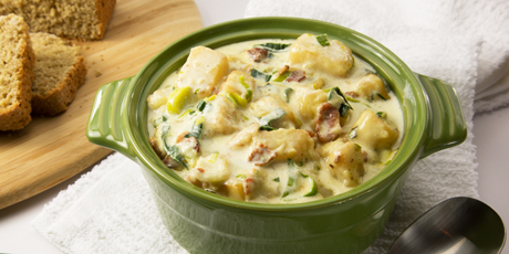 Creamy Potato and Leek Soup