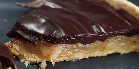 Caramelized Pear and Chocolate Tart Recipes | Food Network ...