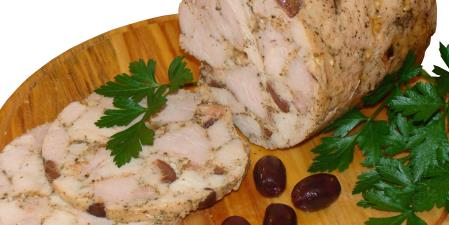 Turkey ham with olives from ham maker recipes food network canada turkey ham with olives from ham maker print recipe forumfinder Gallery