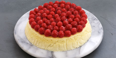Raspberry Fluffy Cheesecake
