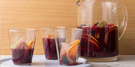 Red wine sangria recipes food network canada for Sangria recipe red wine triple sec