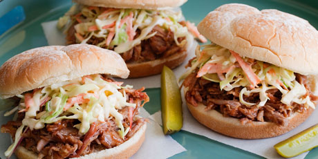 Pulled pork barbecue recipes food network canada pulled pork barbecue forumfinder Image collections