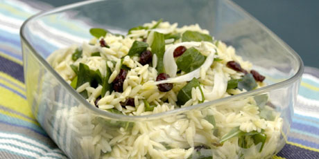 Sweet and Tangy Orzo Salad