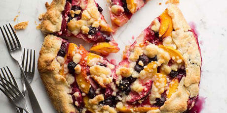 Summer Fruit Crostata