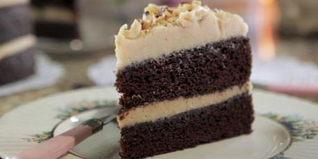 Chocolate and espresso layer cake with peanut butter icing recipes chocolate and espresso layer cake with peanut butter icing forumfinder Choice Image