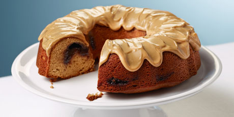 Peanut Butter and Jelly Bundt Cake