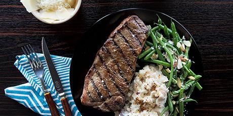 Healthy marinate for strip steak
