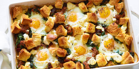 Italian sausage and egg bake recipes food network canada italian sausage and egg bake forumfinder Images