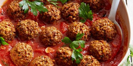 Lentil mushroom meatballs recipes food network canada lentil mushroom meatballs print recipe forumfinder Choice Image