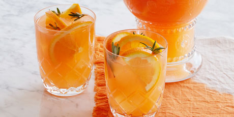 Orange, Aperol and Rosemary Sangria