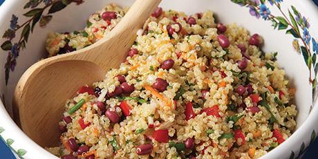 Colourful quinoa salad recipes food network canada colourful quinoa salad great canadian cookbook recipe forumfinder Images