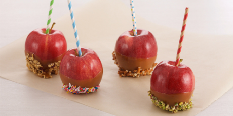 Anna Olson's Caramel Apples