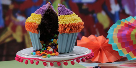 The pinata cupcake recipes food network canada the pinata cupcake foods greatest hits forumfinder Image collections