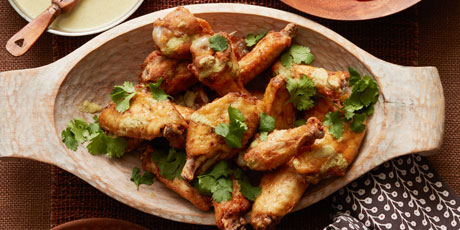 Indonesian coconut curry chicken wings recipes food network canada indonesian coconut curry chicken wings print recipe forumfinder Image collections