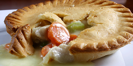 Gluten free chicken pot pie recipes food network canada gluten free chicken pot pie print recipe forumfinder Gallery