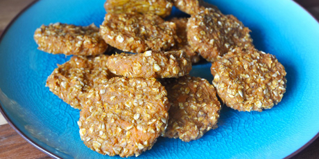Vegan Dairy And Gluten Free Sweet Potato And Oat Cookies Recipes Food Network Canada