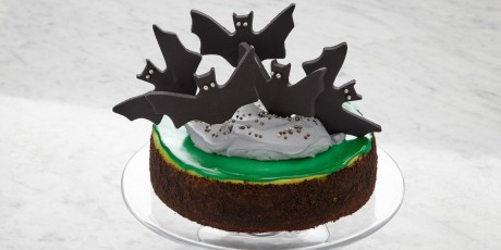 Batty Chocolate Mint Cheesecake