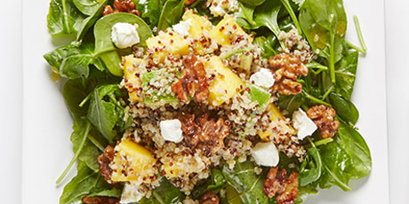 Kale spinach quinoa salad recipes food network canada kale spinach quinoa salad print recipe forumfinder Choice Image